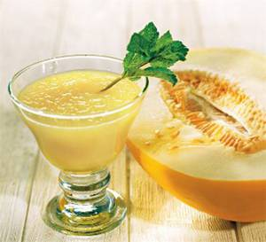 Калорийность дынного сока с базиликом