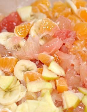 Калорийность салата Утренняя сладость с помело