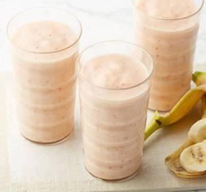 Калорийность смузи из банана и персика