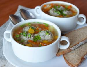 Калорийность супа из индюшатины
