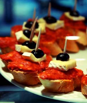 Рецепт и калорийность испанского тапаса