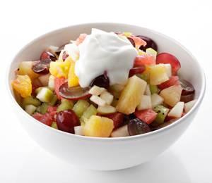 Сколько калорий во фруктовом салате с грейпфрутом