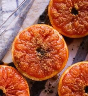 Сколько калорий в запеченном грейпфруте