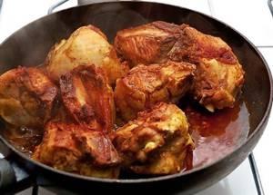 Сколько калорий в курице по-японски