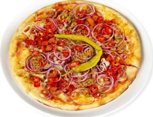 Сколько калорий в пицце Три перца