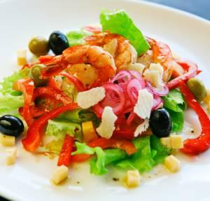 Сколько калорий в салате с болгарским перцем
