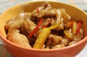 Сколько калорий в стир-фрае из курицы