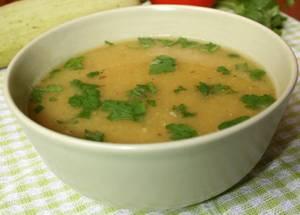 Сколько калорий в супе-пюре из кабачков