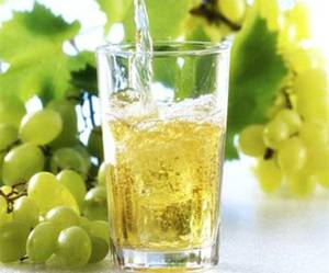 Сок белого винаграда как источник янтарной кислоты