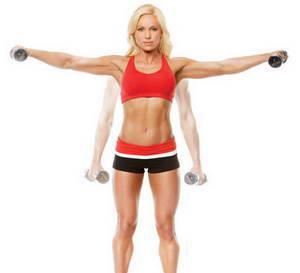 Какие существуют упражнения для похудения рук с гантелями для женщин