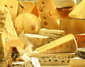 Химический состав, пищевая и энергетическая ценность различных сыров