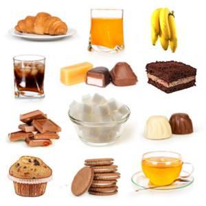 Что из продуктов относится к простым углеводам