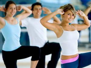Танцевальная аэробика для похудения видео