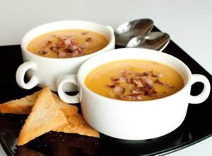 Рецепт и калорийность печеночного супа-пюре