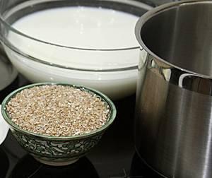 Рецепт и калорийность пшеничной каши с кокосовым молоком