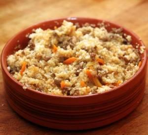 Сколько калорий в пшеничной каше с курицей по-восточному