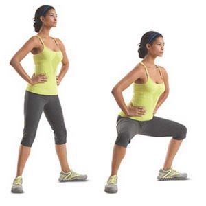 Как необходимо выполнять упражнение приседания плие для похудения ног и ляшек