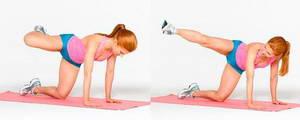 """Как необходимо выполнять упражнение """"Отведение ноги в сторону"""" для похудения ляшек в домашних условиях"""