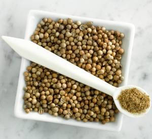 Кориандр (кинза) как приправа и его применение в полезной кулинарии