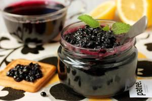 Варенье из ягод черной бузины - рецепт приготовления и полезные свойства