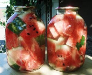 Как хранить арбузы в домашних условиях на зиму - рецепт заготовки в банках