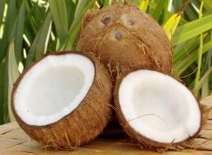 Калорийность и пищевая ценность кокоса