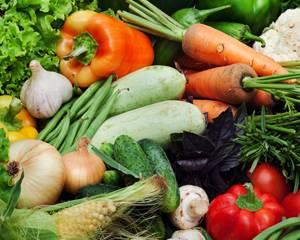 Полезные свойства овощей и применение их для похудения