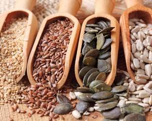 Польза и возможный вред сырых и жареных зерен, семян и семечек