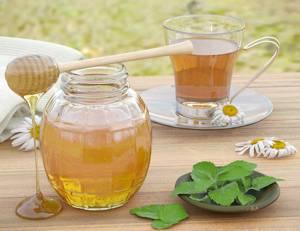 Рецепт и калорийность мятного напитка с зеленым чаем и медом