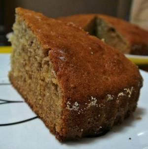 Рецепт и калорийность пирога с черным чаем