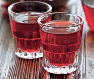 Рецепт лечебной настойки из плодов терна на водке, приготовленной  в домашних условиях