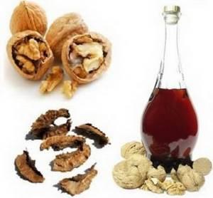 Сфера применения и польза настойки из перегородок грецкого ореха