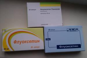 Побочные эффекты и действия таблеток флуоксетина