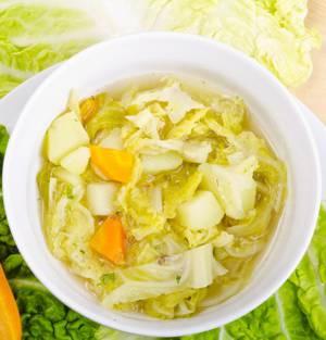 Рецепт приготовления детокс-супа из савойской капусты, а также фото этого блюда