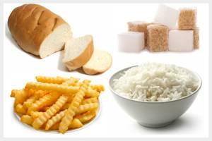 Список продуктов, имеющих высокий гликемический индекс