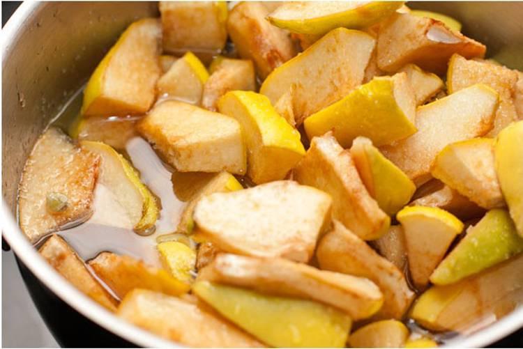 Простой пошаговый рецепт варенья из айвы с фото