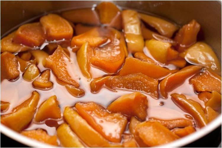 Рецепт приготовления вкусного айвового варенья