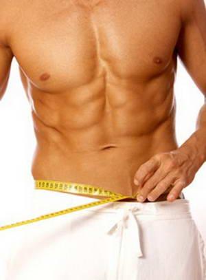 Упражнение для похудения живота и боков с гантелями