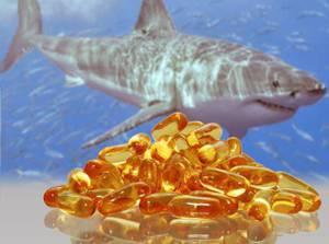 Химический состав, полезные свойства и сферы применения жира печени акулы