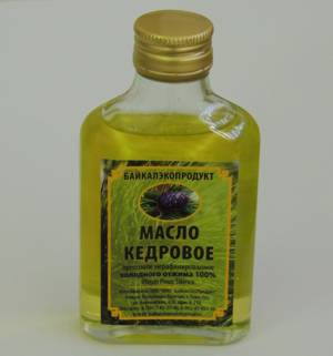 Какую пользу и вред может принести масло кедрового ореха и как его принимать