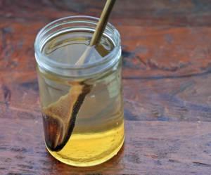 медовая вода по утрам от паразитов
