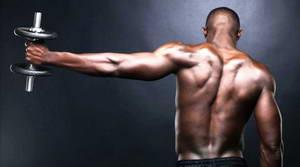 Упражнение на задние дельты 1