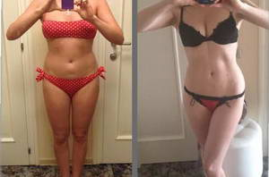 Вика похудела на 5 кг за месяц дробного питания