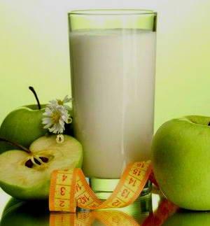 Что собой представляет кефирно-яблочная диета на 7 дней