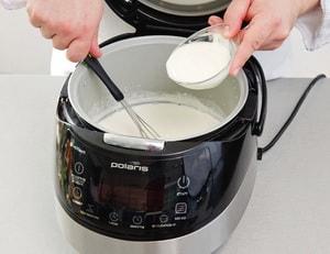 Как сделать йогурт мультиварке