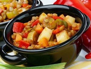 рецепт приготовления овощного рагу в мультиварки