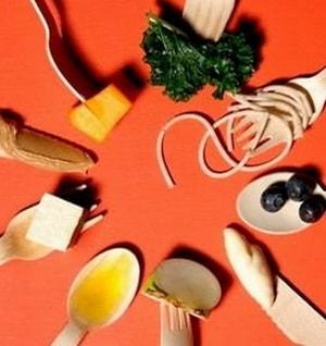 Как должно выгладить примерное меню раздельного питания для похудения в таблице