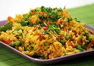 Как приготовить рис с овощами в мультиварке Редмонд