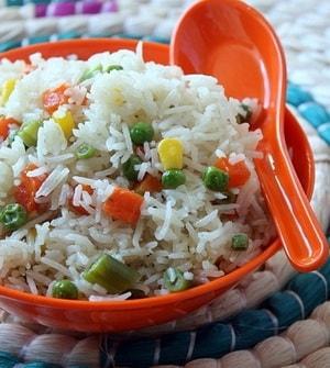 Как приготовить вкусный рис с овощами в мультиварке