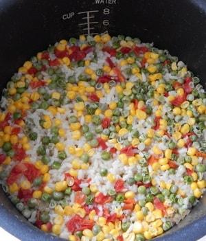 Каковы рецепты приготовления риса с овощами в мультиварке Панасоник